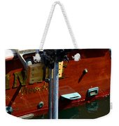 Vancouver Bc Classic Boats Weekender Tote Bag