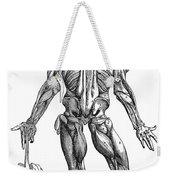Vesalius: Muscles, 1543 Weekender Tote Bag