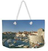 View Of Dubrovnik In Croatia Weekender Tote Bag
