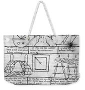 Villard De Honnecourt (fl Weekender Tote Bag