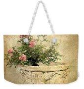Vintage Blossom Weekender Tote Bag