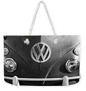 Volkswagen Vw Bus Front Emblem Weekender Tote Bag