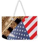 Wall Street Flag Weekender Tote Bag