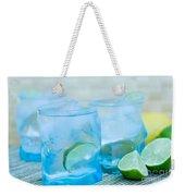 Water In Blue Weekender Tote Bag