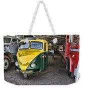 3 Wheeler Truck Weekender Tote Bag