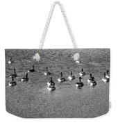 Wild Birds And Pond Weekender Tote Bag