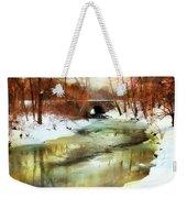 Winter Waters Weekender Tote Bag