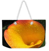 Zantedeschia Named Flame Weekender Tote Bag