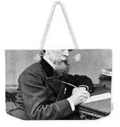 Charles Dickens (1812-1870) Weekender Tote Bag
