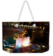 30 Rock Fountain Weekender Tote Bag