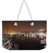 Long Beach Marina- California Weekender Tote Bag