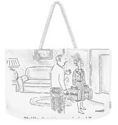 Hey! How About Giving Me Some Benchmarks? Weekender Tote Bag