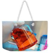 Laboratory Equipment In Science Research Lab Weekender Tote Bag