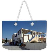 Views Of Santorini Greece Weekender Tote Bag