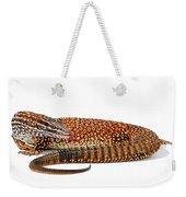 Australian Reptiles On White Weekender Tote Bag