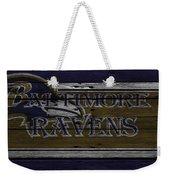 Baltimore Ravens Weekender Tote Bag