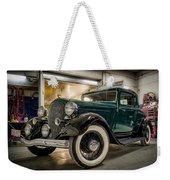 '33 Plymouth Weekender Tote Bag