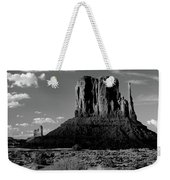 Rock Formations On A Landscape Weekender Tote Bag