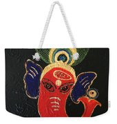 34 Ganadhakshya Ganesha Weekender Tote Bag