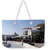 Views Of Santorini Greece Weekender Tote Bag