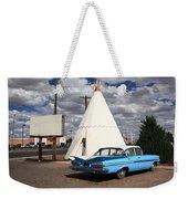 Route 66 - Wigwam Motel Weekender Tote Bag