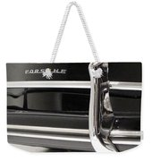 356 Chrome Reflections Weekender Tote Bag