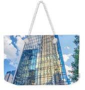 Skyline And City Streets Of Charlotte North Carolina Usa Weekender Tote Bag