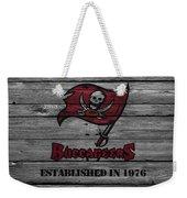 Tampa Bay Buccaneers Weekender Tote Bag by Joe Hamilton