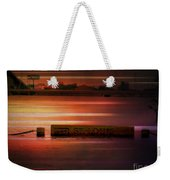 37 Feet Past Flood Stage 2 Weekender Tote Bag
