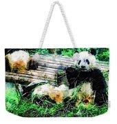 3722-panda -  Plein Air 1 Sl Weekender Tote Bag