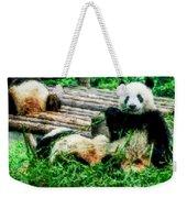 3722-panda -  Watercolor 1 Weekender Tote Bag