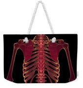 Bones Of The Upper Body Weekender Tote Bag