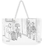 He's A Good Man Weekender Tote Bag