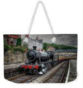 3802 At Llangollen Station Weekender Tote Bag
