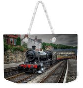 3802 At Llangollen Station Weekender Tote Bag