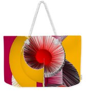 3d Abstract 18 Weekender Tote Bag by Angelina Vick