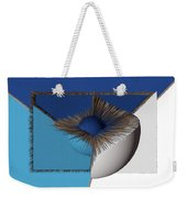 3d Abstract 19 Weekender Tote Bag by Angelina Vick