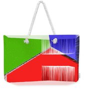 3d Abstract 3 Weekender Tote Bag by Angelina Vick