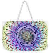 3d Abstract - Use Red_cyan 3d Glasses Weekender Tote Bag