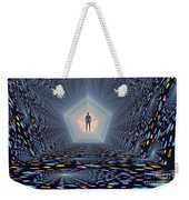 3d Concept Of How Mankind Will Use Weekender Tote Bag