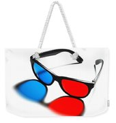 3d Glasses Weekender Tote Bag