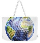 3d Rendering Of A Planet Earth Golf Weekender Tote Bag