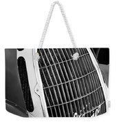 1935 Alfa Romeo 8c-35 Grille Emblem -0006bw Weekender Tote Bag