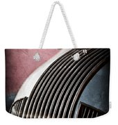 1935 Pontiac Sedan Hood Ornament Weekender Tote Bag