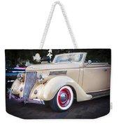 1936 Ford Cabriolet  Weekender Tote Bag