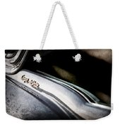 1954 Cadillac Coupe Deville Emblem Weekender Tote Bag