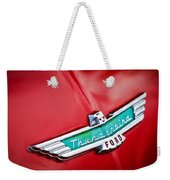 1956 Ford Thunderbird Emblem Weekender Tote Bag