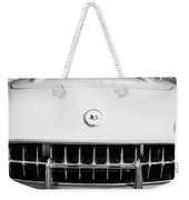 1957 Chevrolet Corvette Emblem Weekender Tote Bag