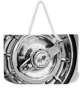 1957 Chevrolet Corvette Wheel Weekender Tote Bag