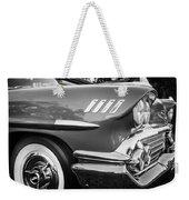 1958 Chevrolet Bel Air Impala Painted Bw  Weekender Tote Bag
